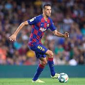 Barcelona have found the potential replacement for Sergio Busquets and it's not Oriol Busquets
