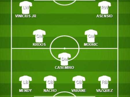 Check how Real Madrid could lineup against Atalanta BC