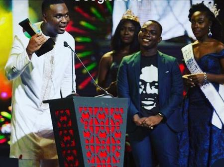 Exactly Four Years Today Joe Mettle Picked The VGMA Artiste Of The Year Award In Grand Style