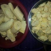 See These Lovely Porridge Plantain With Periwinkle