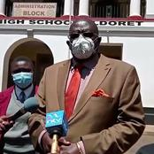 Agony as Migori Student Turns Blind Minutes Before Starting the Monday Exams