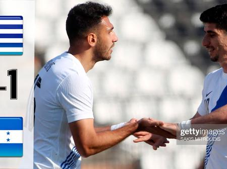 Greece impressed with a 2-1 win against Honduras as Vangelis scored a double.(Opinion)