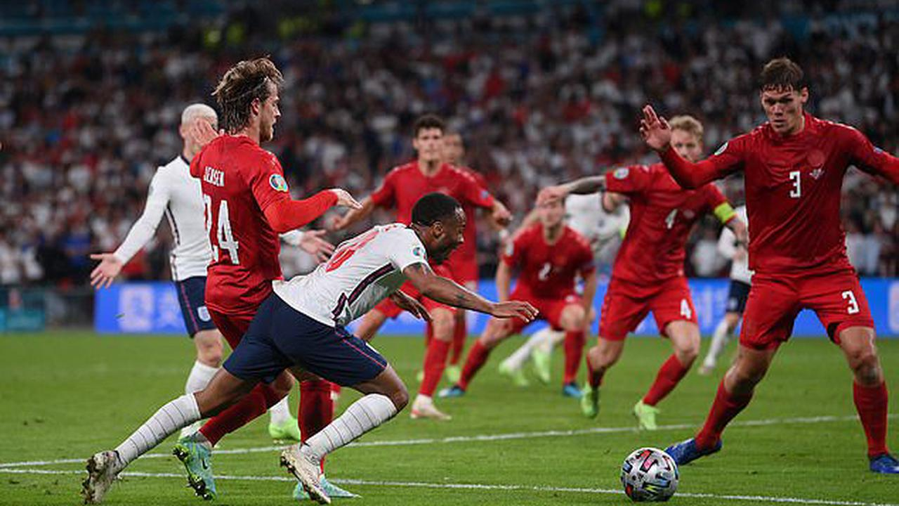 Angry fans start petition to get England vs Denmark REPLAYED, claiming Raheem Sterling dived to earn penalty that led to Three Lions' extra-time winner in Euro 2020 semi-final