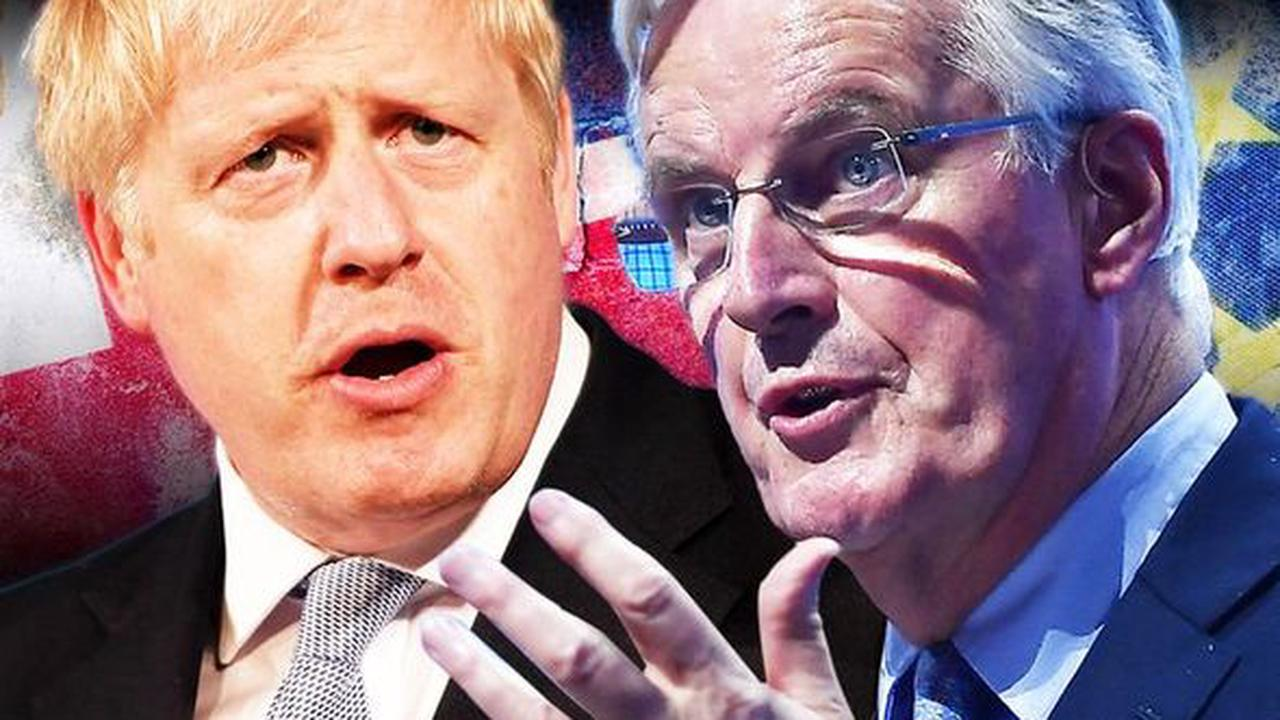 Gloating Barnier boasted 'UK are rule-takers' before PM's Brexit concessions