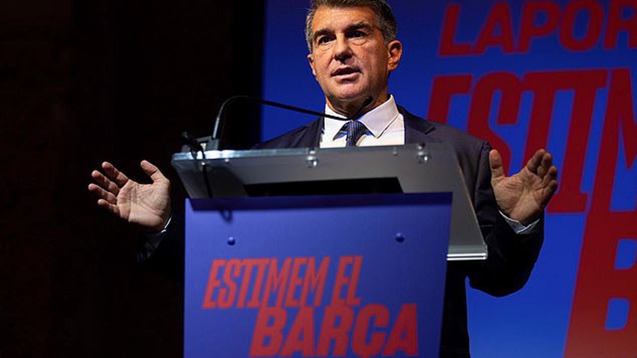 Barcelona presidential candidate Joan Laporta remains 'positive' that Lionel Messi will sign new contract as he claims the situation was not helped by 'mismanagement' by the club