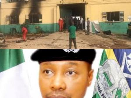 Breaking: Meet The New IGP Usman Alkali Baba; Gunmen Reportedly Attack Another Police Station In Imo