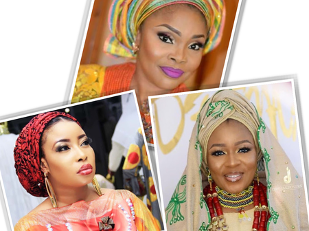 See pictures of Nigerian actresses who converted from Christianity to Islam