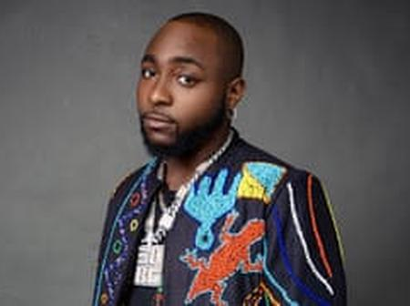 Davido shades other phone brands on social media, see details