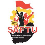 SAFTU Protests, members strike before budget speech.