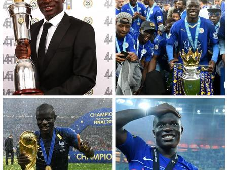 Some facts about N'Golo Kante's early life.