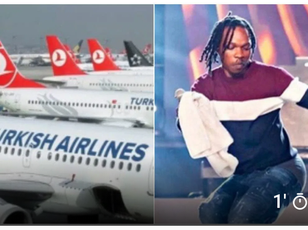 Naira Marley accuses Turkish Airline staff of racism