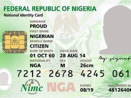 If Your National ID Card Has Lost And Another One Has Not Been Issued to You, Here Is What Should Do