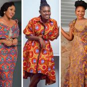 Photos of Martha Ankomah and Anita Akuffo Slaying Ankara Outfits that will Blow Your Mind