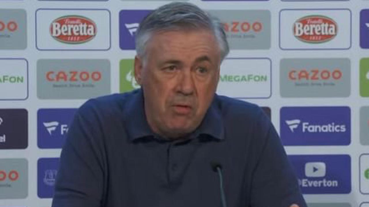 Everton manager Carlo Ancelotti sends salary cap message to Premier League