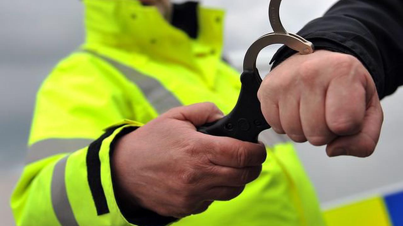 Driver of car 'linked to serious assault' arrested after cops find 'knuckleduster'