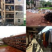 Imagine What Nigerian Students Are Going Through; See The Hostel Of Foremost Federal University