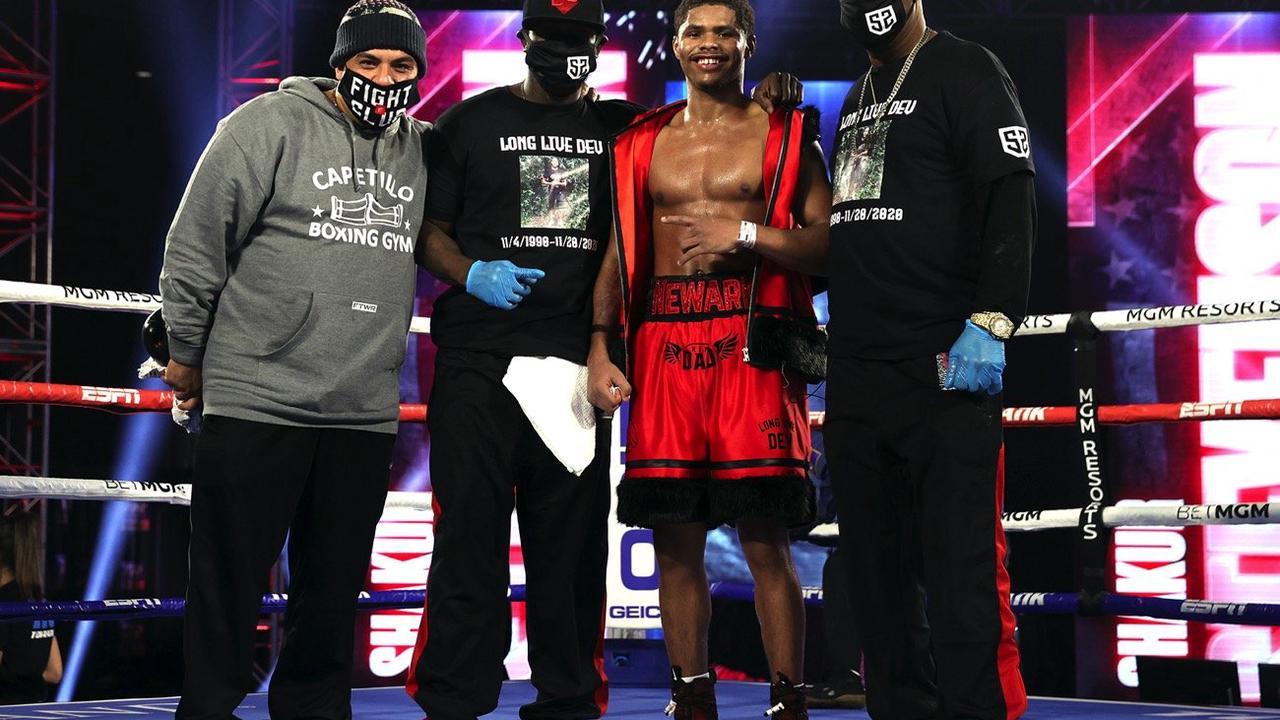 Bob Arum: Shakur Stevenson will be 'The Face of Boxing'