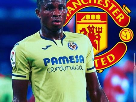 Manchester United Reportedly Set to Sign Nigerian Winger If Sancho Deal Fall Through