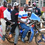 Kazi Ni Kazi; Mp Ndindi Nyoro Excites Bodaboda Riders At His Area After Doing This