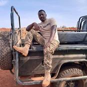 RIP: Kenyans Mourn As High Ranked QRT Vibrant Soldier Dies In Wajir Accident