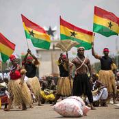 Ghana celebrates the Independence Day of independent that was attained in 1957