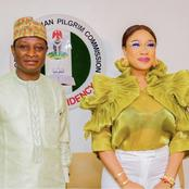 Mixed Reactions As Tonto Dikeh Becomes Nigeria Christian Pilgrim Ambassador For Peace (Photos)