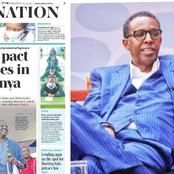 Lawyer And Kenyans React to Monday Newspaper Headline,