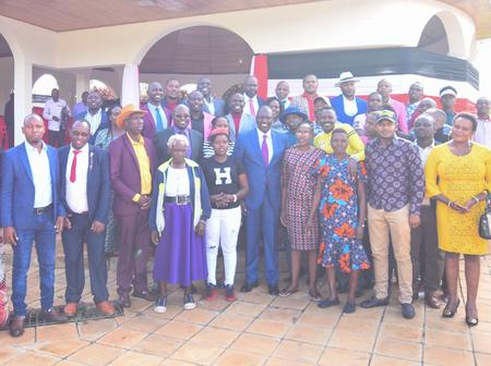 What Ruto Promised Rift Valley Musicians, Comedians in Karen