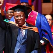 Malema is The Most Educated Politician, See how Many Degrees he has / opinion