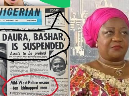 Presidential Aide Shares 55 Years Old Newspaper Showing Crime Reports