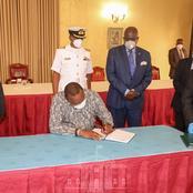 What President Uhuru Was Doing Today When Ruto Was Meeting Tangatanga Leaders at Karen