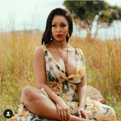 Minnie Dlamini-Jones left fans stunned with her latest Floral dress, looking absolutely dazzling.