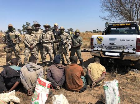 Illegal miners arrested in Puttfontein