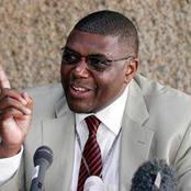 I Told You The Handshake Is In Place And It Is As Hard As A Rock, Kenya Needs Unity~Matsanga