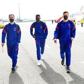 Barca players arrive in Pamplona for tonight's clash (See photos)