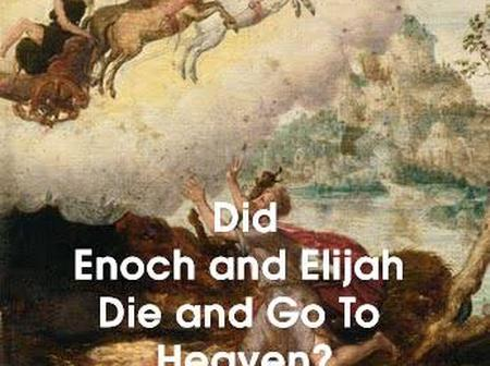 If Jesus Said No One Has Ascended To Heaven, Where Did Enoch and Elijah Go?