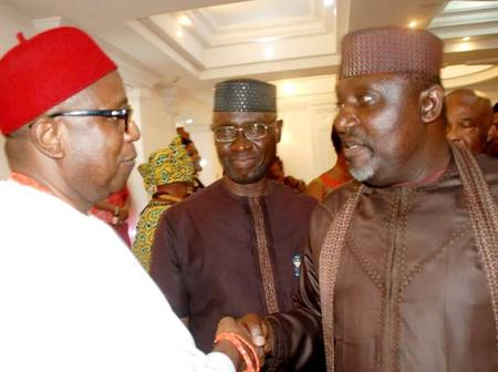 Rochas Okorocha and Eze Ilomuanya clash inside Air Peace aircraft