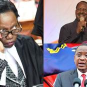 Daring Martha Karua Badly Destroys President Uhuru Kenyatta
