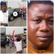 Sunday Igboho Removed His Cloth After Being Publicly Harrased Allegedly By DSS Operatives.