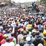 Ruto In Muranga vs Raila In Busia;Who Has The Numbers?(Photos)