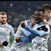 Super Eagles star shines in his team's 3-0 victory as they move to the top of the League table
