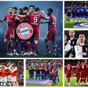 Top 10 Most Valuable Clubs In The World: Bayern ranked 3rd,Chelsea Ranked 7th,PSG ranked 9th