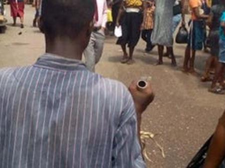Man Slumps And Dies After Buying Foodstuff In Asaba Market. (See Photo's)