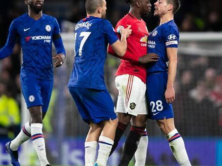 Red vs blue as Manchester United host Chelsea at old Trafford