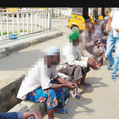 I passed a group of beggars in front of an estate in Abuja, this is what I heard them discussing -Man