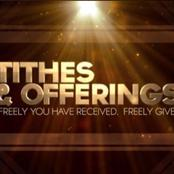 Opinion: Insight on offering and tithing