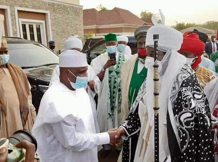 Emir Sanusi meets with Sokoto state Governor [Photos]