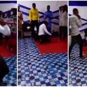 Tragedy: Mixed Reactions As Ghanaian Pastor Dies Mysteriously While Preaching In Church.