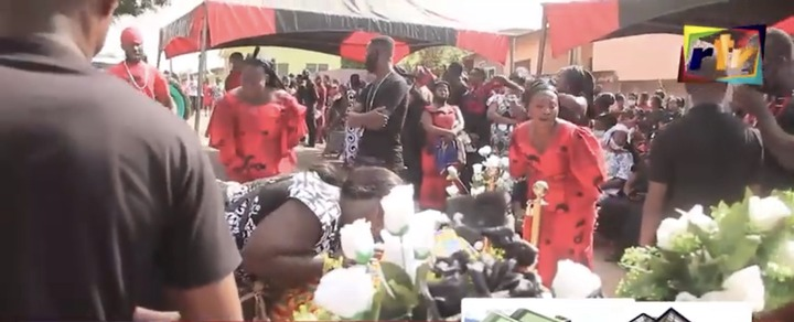 47a0db0a3fe8366cca4405688578e3ad?quality=uhq&resize=720 - Sad: Scenes from the KNUST Uber driver funeral who was murdered by a final year student(Photos)
