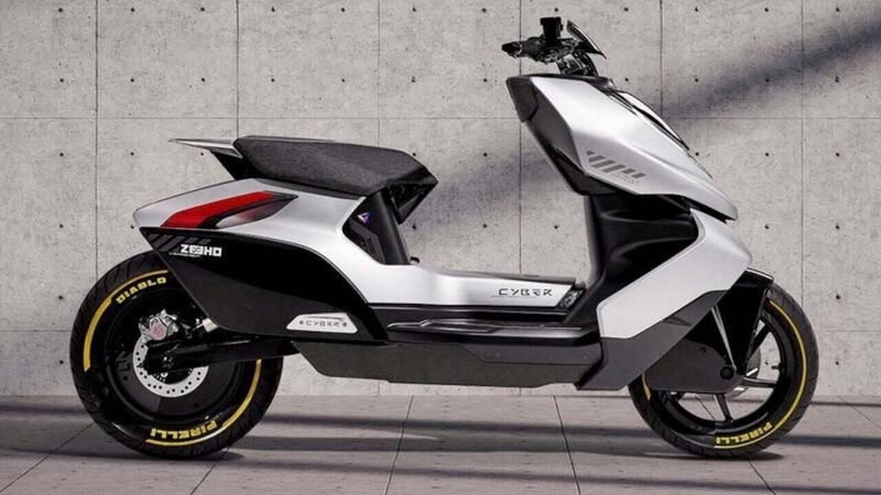 Le scooter chinois futuriste Zeeho Cyber en Europe dès 2022!
